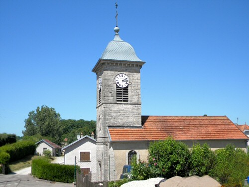 L'église d'Aubertans, photo D. Bion