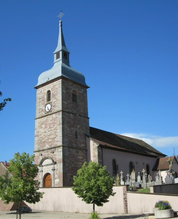 L'église de Buc, photo J. Masset