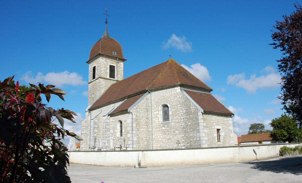 L'église de Champdivers, photo M. Morlin