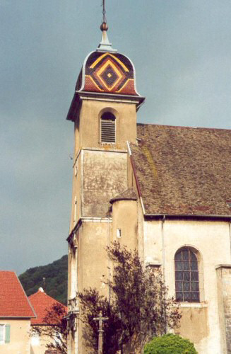 L'église de Deluz, photo C. Briot