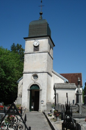 L'église de Doucier, photo O. Pernot