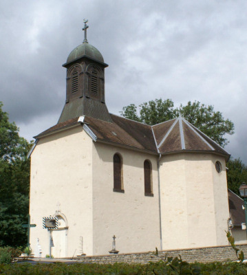 L'église d'Ecole-Valentin, photo J. Masset