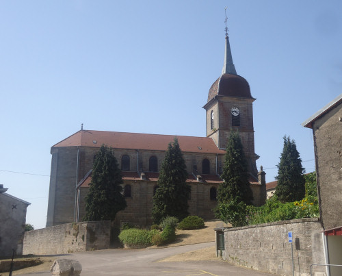Eglise de Fresnes-sur-Apance, photo E. Ozenne