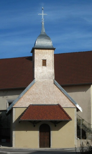 La chapelle de Grandfontaine sur Creuse,  photo J. Masset