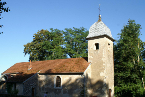 Eglise de Larians et Munans, photo J. Masset
