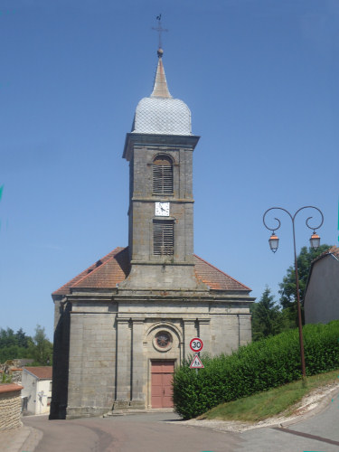 Eglise de Larivière, photo E. Ozenne