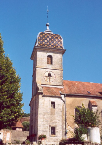 L'église de La Tour de Sçay, photo C. Briot