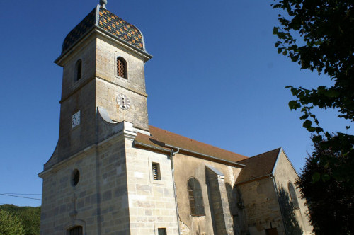 L'église de La Tour de Sçay, photo J. Masset