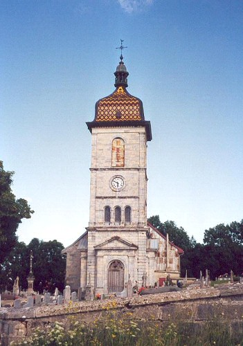 L'église des Fourgs, photo C. Briot