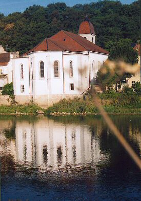 L'église de L'Isle-sur-le-Doubs, photo J. Masset