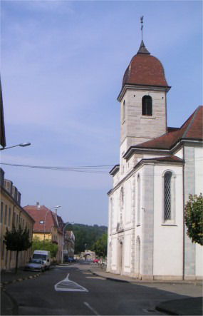 L'église en 2006, photo O. Pernot
