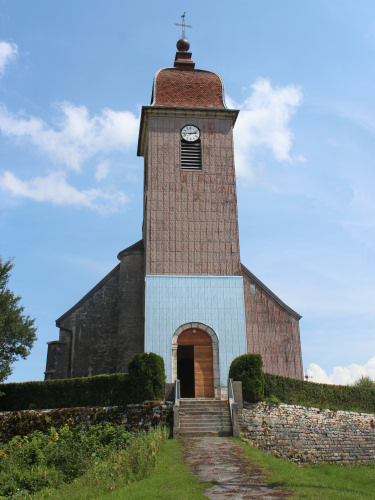 Eglise de Loulle (39), photo O. Pernot
