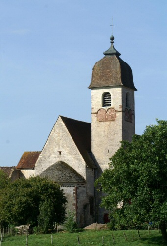 Eglise de Marast, photo J. Masset