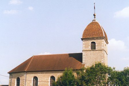 L'église de Miserey-Salines, photo M. Morlin