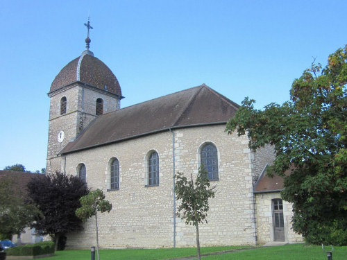 L'église de Miserey-Salines, photo J. Masset