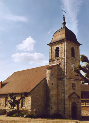 L'église de Mouchard, photo M. Morlin