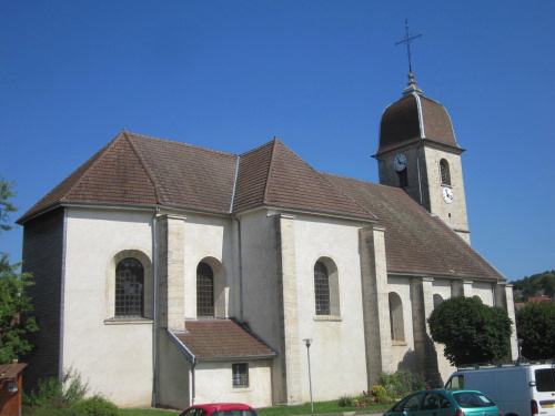 L'église de Pouilley les Vignes, photo J. Masset