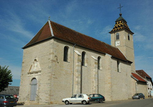 L'église de Recologne, photo M. Morlin