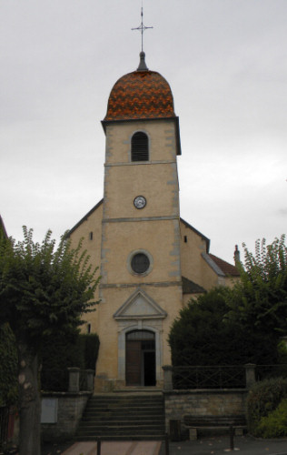 L'église de Rioz, photo D. Bion