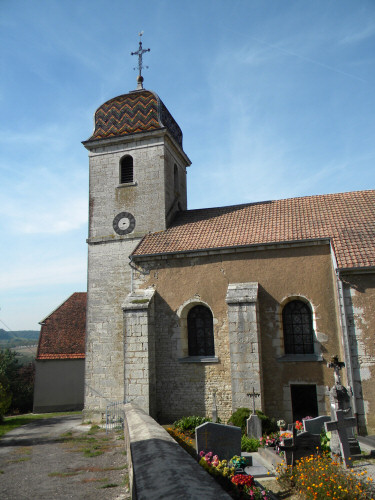 L'église de Romain, photo D. Bion
