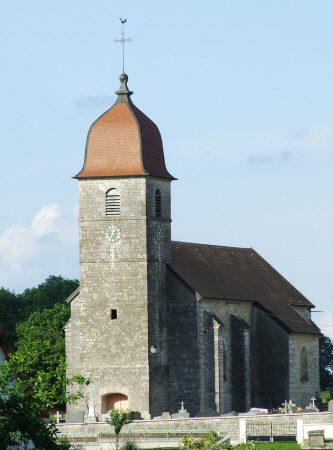 L'église de Saules, photo M. Taland