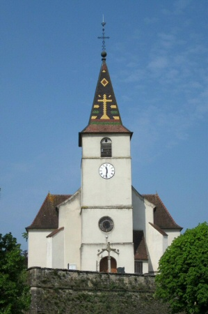 L'église de Sermange, photo J. Masset