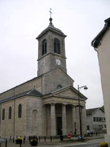 L'église de Saint Aubin, photo B. Mougey