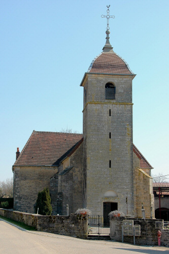L'église de Tromarey, photo M. Morlin