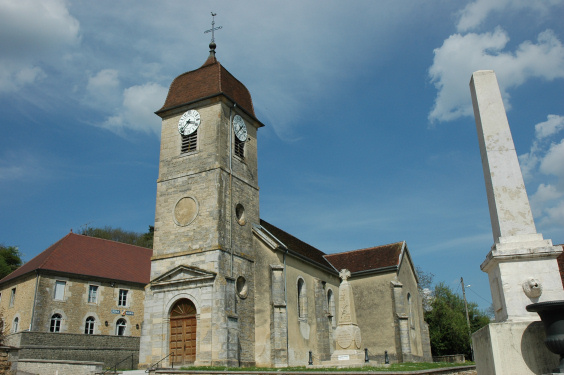 L'église de Vadans, photo M. Morlin