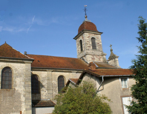 L'église de Vauvillers, photo J. Masset