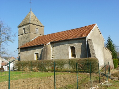 L'Eglise de Villers-Bouton, photo D. Bion