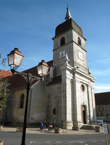 L'église de Villersexel, photo D. Bion